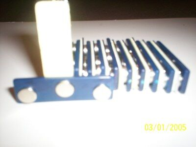 25 NAME BADGE TAG MAGNETS DOUBLESTICK TAPE & EASY TAB FASTENERS BEST QUALITY (Best Double Stick Tape)