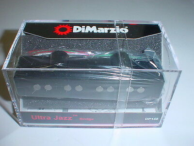 DIMARZIO DP148 Ultra Jazz Bridge Bass Guitar Pickup - BLACK  ()