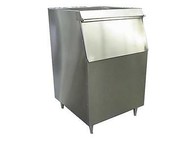 New Ice Machine Bin Slope Front Lift-up Door 400lb Stainless Made In Usa