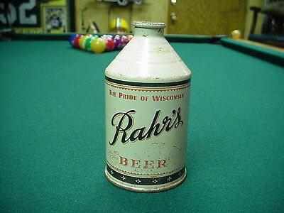 Rahr's Cone Crown Top Beer Can