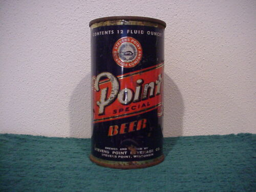 POINT SPECIAL BEER 1950s FLAT TOP By Stevens Point Bev Co. Wisconsin