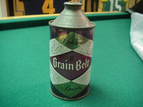"""Grain Belt """"Special"""" & """"Golden"""" Old Cone Top Beer Can"""