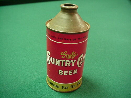 Goetz Country Club Pony Express Cone Top Beer Can Saint Joseph Mo.