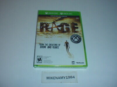 New RAGE game - Microsoft XBOX ONE or XBOX 360 - FACTORY SEALED !! ()
