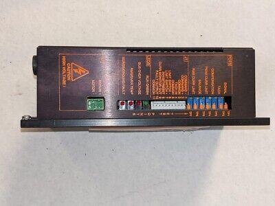 New Servo Dynamics Brush Dc Servo Drive Model 1525-brs 7300-8088 Cnc 120v Input