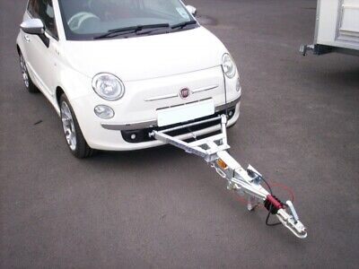 Towing A-Frames fitted to Fiat 500