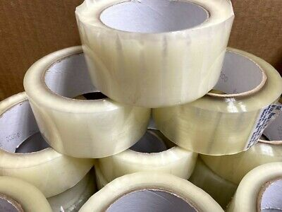 36 Pack Rolls Carton Sealing Packing Packaging Shipping Tape 2x110 Yards
