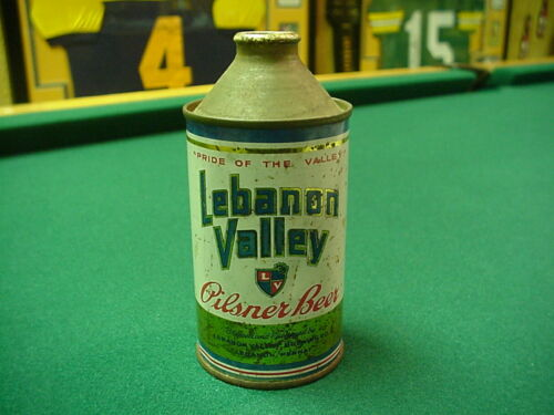 Lebanon Valley Beer Cone Top Can Nice