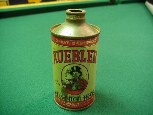 KUEBLER PILSNER BEER 12 OZ CONE TOP BEER CAN