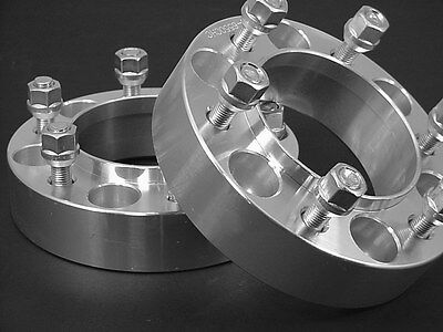 2 (HUB CENTRIC) WHEEL SPACERS 1.50 Inch FACTORY WHEELS OK  # 6550C77 (Ap C77)