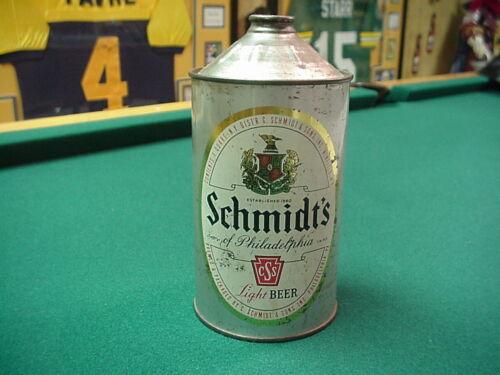 Schmidt Quart Cone Top Beer Can NICE