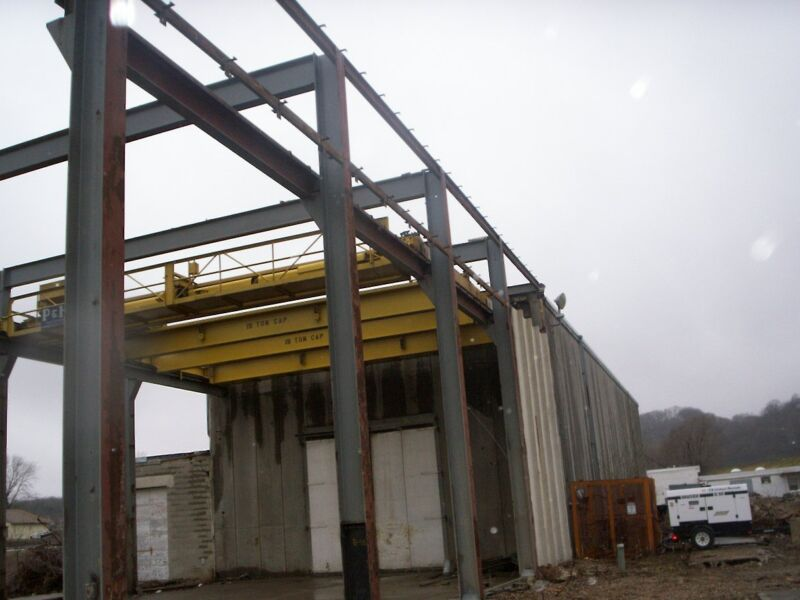 bridge crane, overhead crane, crane way