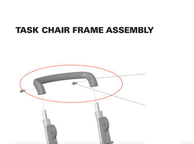 Humanscale Freedom Office Chair Handle Brace Freedom Task Chair Parts Handle