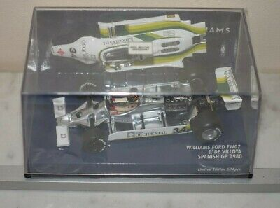 Minichamps Williams Ford FW07 Spanish GP 1980 400 8000034