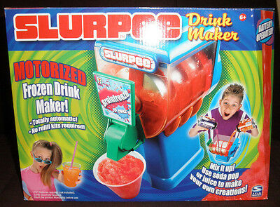 7 Eleven Motorized Slurpee Drink Maker Icee Slushie Frozen Drink Spinmaster