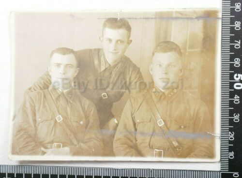 1930th Soviet RKKA Infanrty soldiers  tunic cap colar patch photo