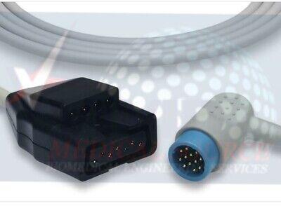 Physio-control Lifepak 1215 12-lead Ecg Trunk Cable 11110-000110 New 1 Yr Warty