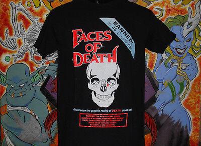 Faces Of Death Skull Shirt Lucio Fulci Dario Argento Horror Cannibal Holocaust