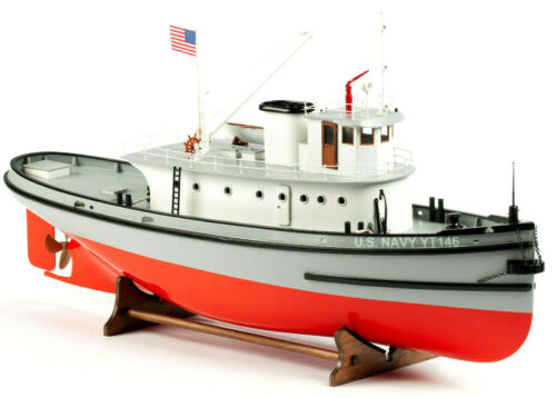 Billing Boats Hoga Pearl Harbor Tug Boat 1/50 Boat Kit BB708 01-00-0708 BOX DAM.