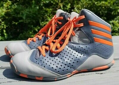 Adidas Next Level Speed 4 Youth Boys Girls Basketball Shoes Trainers Grey Size 6
