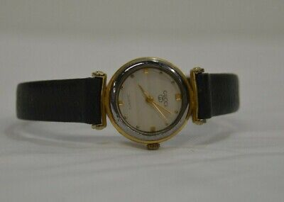 Vintage Petite Gucci Women's Quartz Watch with Leather Special Strap