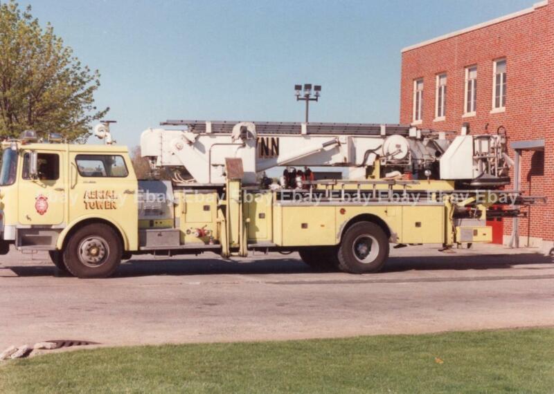 LYNN, MA Fire Dept 3x5 PHOTO: MACK CF AERIAL TOWER