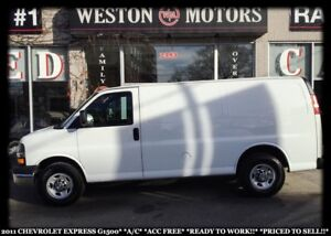 2011 Chevrolet Express 1500 A/C*ACCIDENT FREE*READY TO WORK*PRIC