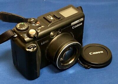 Canon PowerShot G5 5.0MP Digital Camera with Power Cord