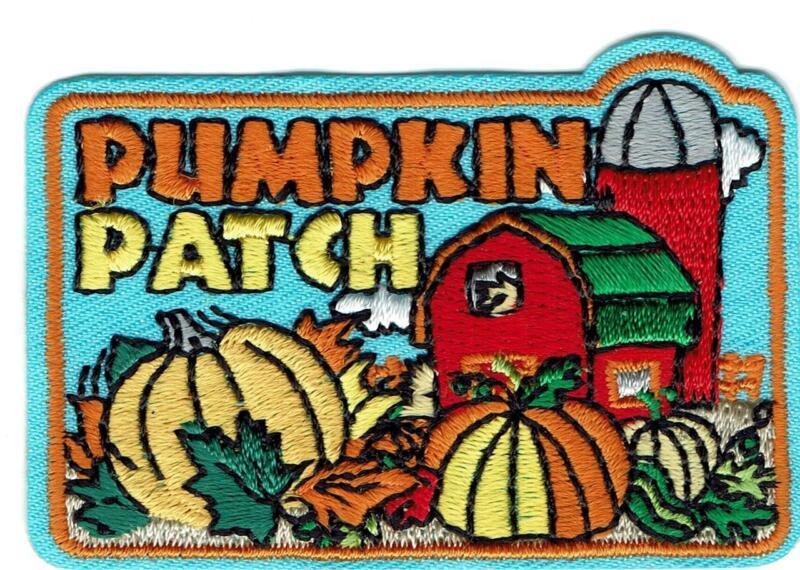 Girl Boy Cub PUMPKIN PATCH FARM Day Visit Fun Patches Crests Badges SCOUT GUIDE
