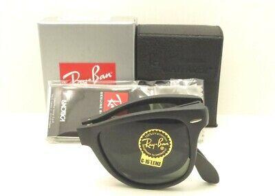 Ray Ban RB Folding Wayfarer 4105 601s Matte Black G15 Authentic Buyer Picks (Wayfarer Folding Ray Ban)