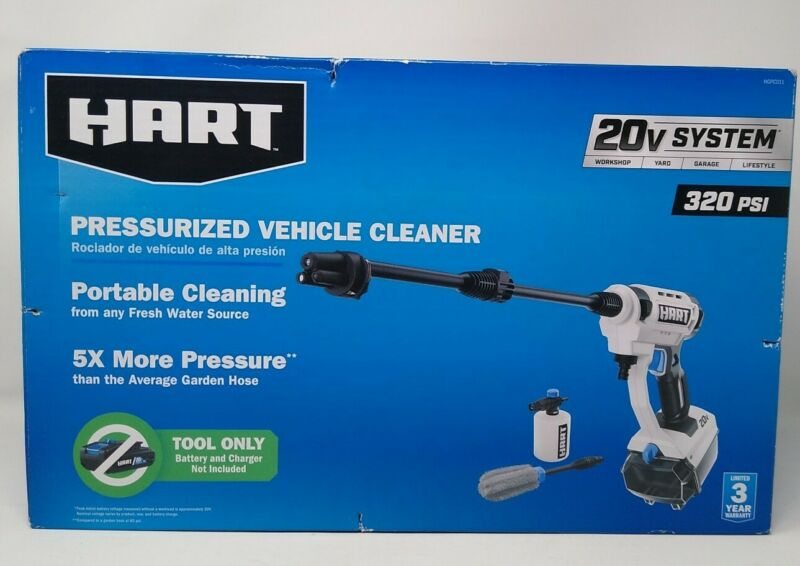 Hart Pressurized Vehicle Cleaner Tool Only Battery NOT Included NEW
