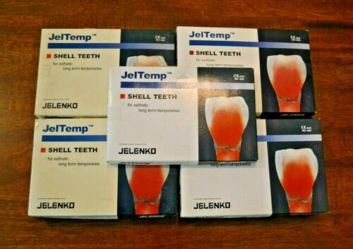 JelTemp Shell Teeth 558 Temporary Crowns For Molar & Anterior Teeth. Dental