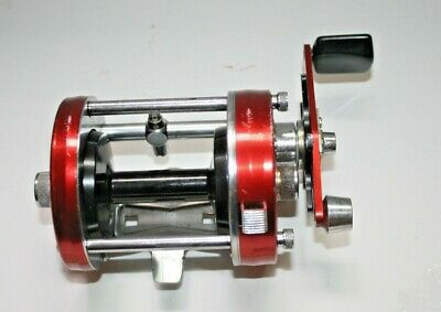 Abu Garcia Ambassadeur Red 7000 with clicker USED Fishing Reel - Sweden 107100