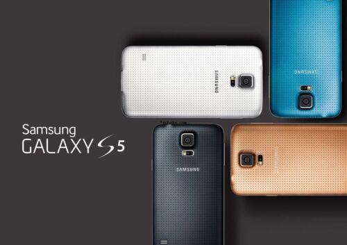 New in Sealed Box Samsung Galaxy S5 G900V Verizon CDMA 16GB Unlocked Smartphone