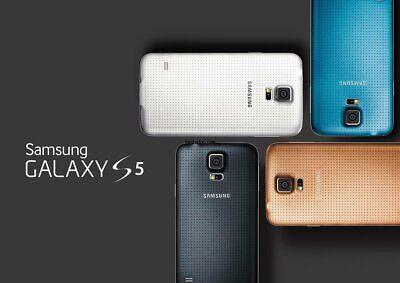 New *UNOPENDED* Samsung Galaxy S5 G900V Verizon Smartphone/Electric Blue/16GB