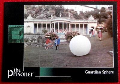 THE PRISONER Auto Series - Volume 1 - GUARDIAN SPHERE - Card #62 Cards Inc. 2002
