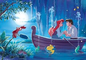 Kids room giant wall mural photo wallpaper 368x254cm for Disney ariel wall mural