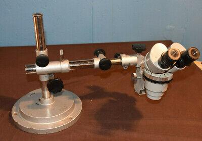 Nikon Smz-1 Boom Stereo Zoom Microscope 10x Eyepieces Includes A Case
