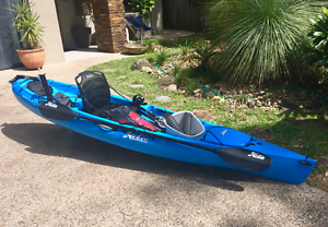 2015 Hobie Revolution 11 Blue Vantage seat & $560 of accessories Wakerley Brisbane South East Preview
