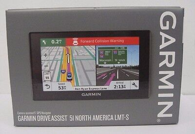 New Garmin Driveassist 51 Lmt S  Camera Assisted 5  Gps Navigator   753759170158
