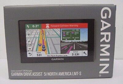 New Garmin Driveassist 51 Lmt S  Camera Assisted 5  Gps Navigator   753759170158