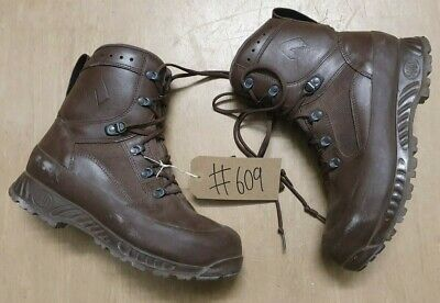 Haix MTP GTX GoreTex Army Issue Combat Brown Leather Tactical Boots 9M UK #609
