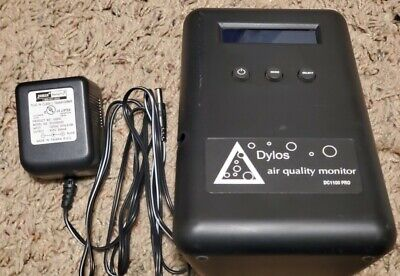 Dylos Dc1100 Pro Laser Particle Counter Air Quality Monitor Power Supply