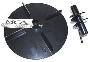 snowex spinner steel 10