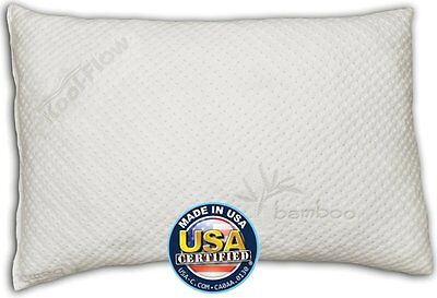 Snuggle-Pedic King Size Ultra-Luxury Bamboo Shredded Memory