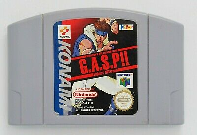 Generation of Art Speed & Power - G.A.S.P. for Nintendo 64 N64 *100% GENUINE*