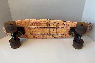 """2013 Penny Original Hawaiian Print 22"""" Cruiser Skateboard Australia Board OOP"""