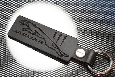 Jaguar Gato Llavero Cuero Negro F E I Tipo Ritmo Xe Xk XF Xkr XK8 Cicatrices