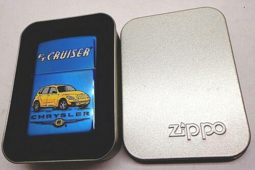NEW Zippo Chrysler PT Cruiser Sapphire Finish 2004 Lighter Cigarette FREE SHIP!!