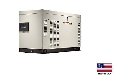 Standby Generator - Commercialresidential 36 Kw - 120208v - 3 Phase - Ng Lp